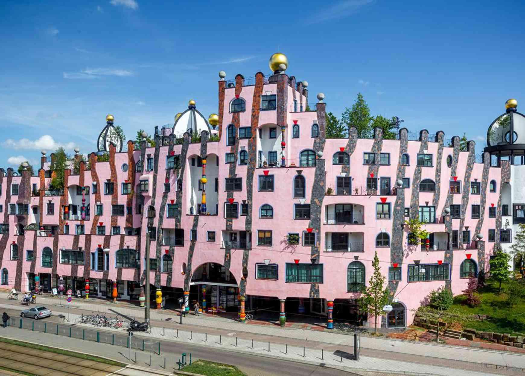 Hundert-wasserhaus Magdeburg